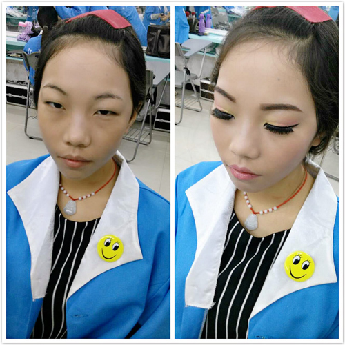 【怀化化妆学校】舞台妆化妆步骤--学员实操