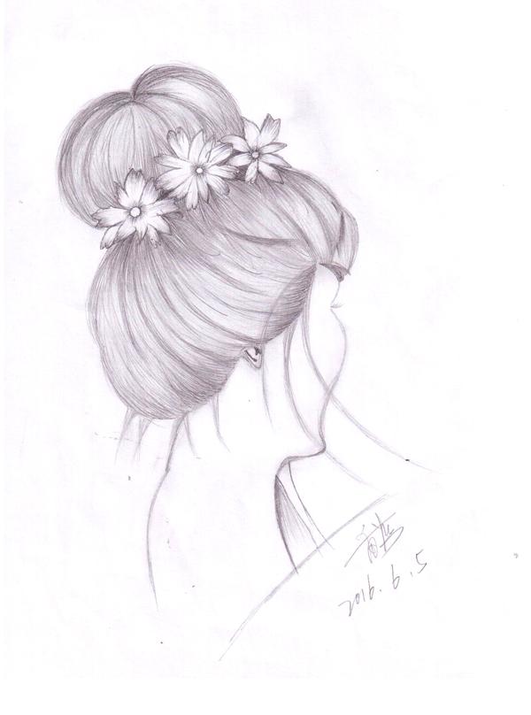 精致唯美手绘发型,惊艳到你了吗?