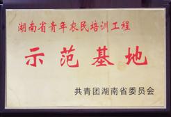 亿美达-湖南青年农民培训工程示范基地