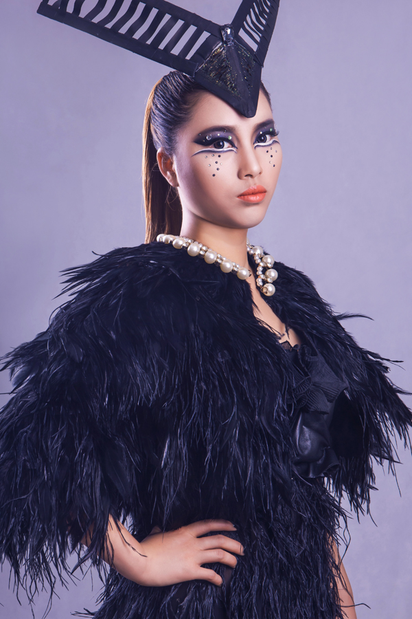 怀化化妆学校 创意化妆造型作品