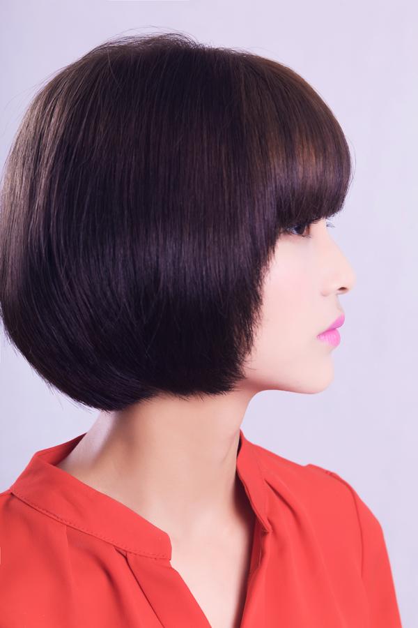短发剪发造型|怀化美发培训学校