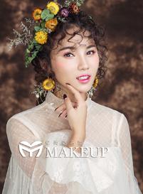 清新新娘化妆造型|仙气新娘化妆造型